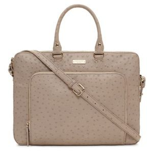 Kate Spade ostrich leather Briefcase Bag tote